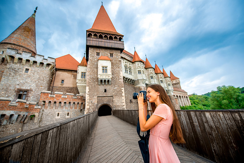 Corvin Castle bridge