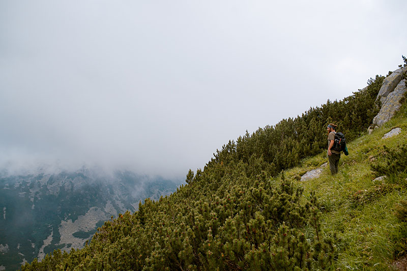 Hiking in the Retezat Mountains