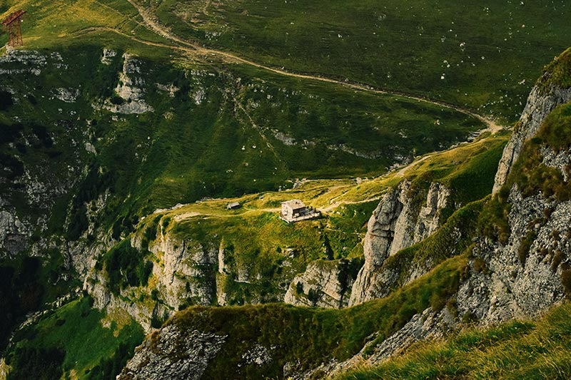 the carpathian mountains the wildest area in romania
