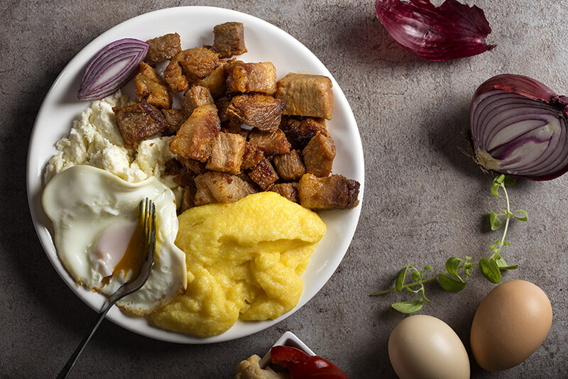 Tochitura moldoveneasca (Moldavian Stew)