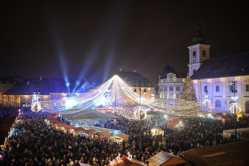 Sibiu and the Christmas Market